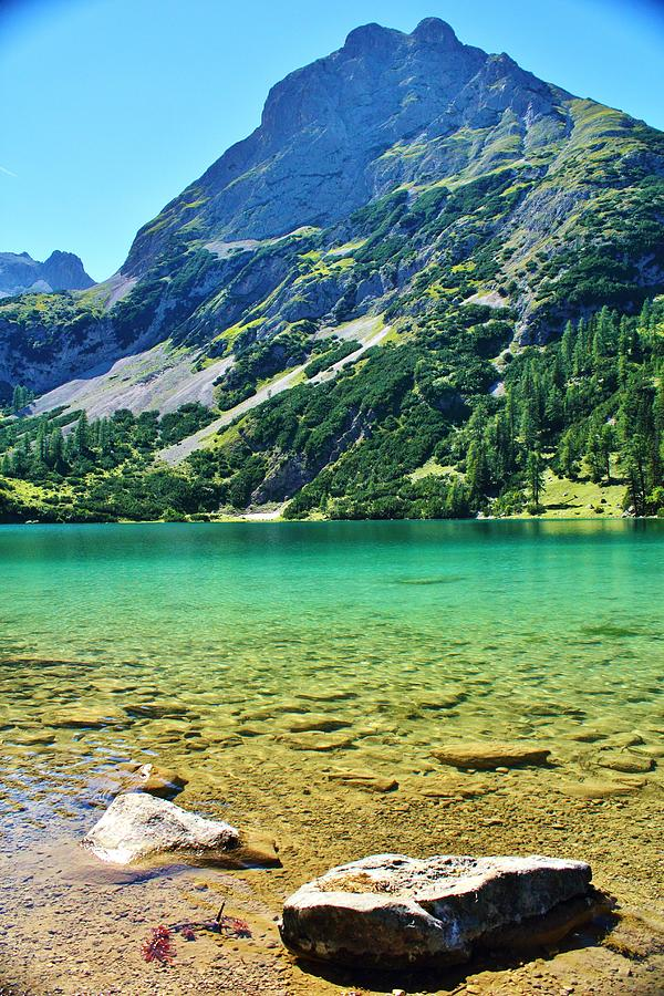 Alpine Summer Lake Photograph