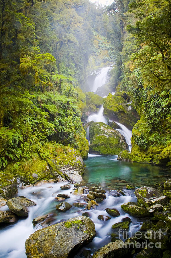 Camping Photograph - Amazing Waterfall by Tim Hester