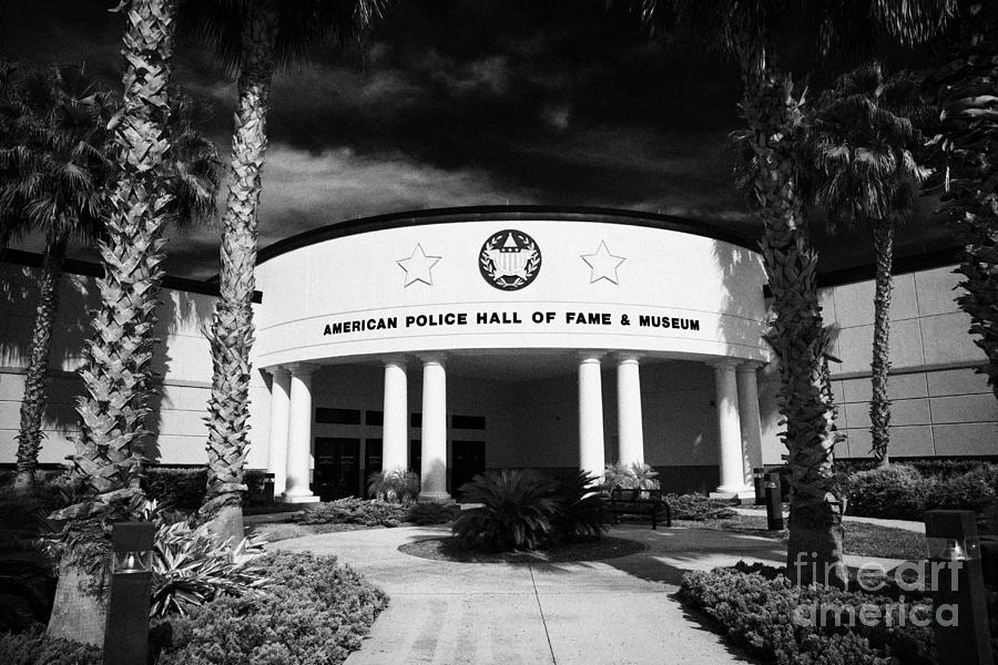 Florida Photograph - american police hall of fame and museum Florida USA by Joe Fox