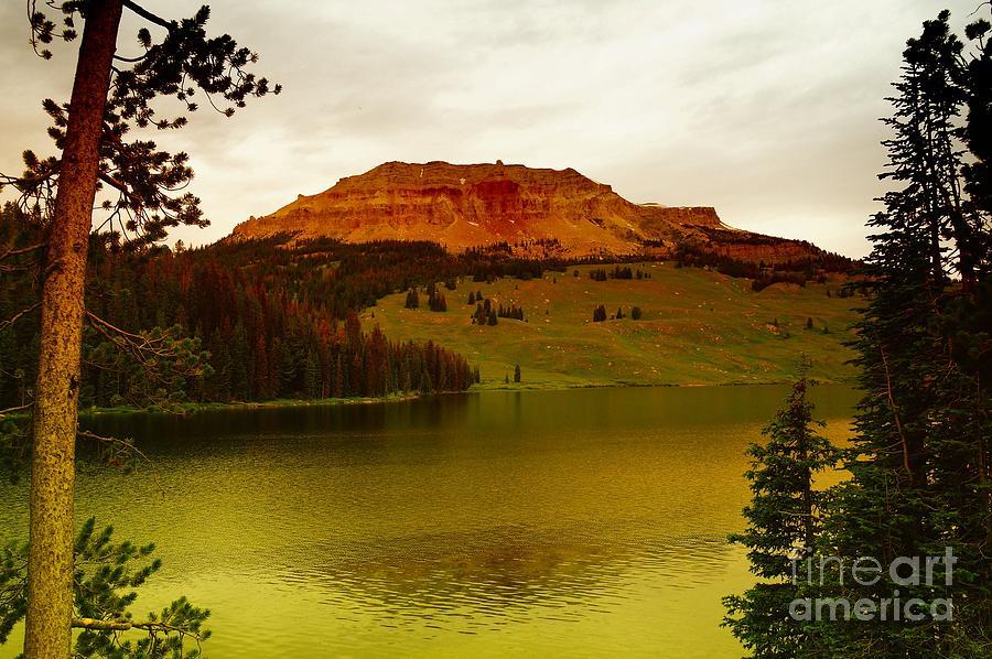 Lakes Photograph - An Alpine Lake by Jeff Swan
