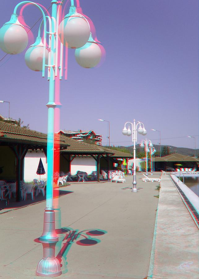 Anaglyph 3D stereoscopic picture red/cyan Photograph by Dimitrija Angelkov