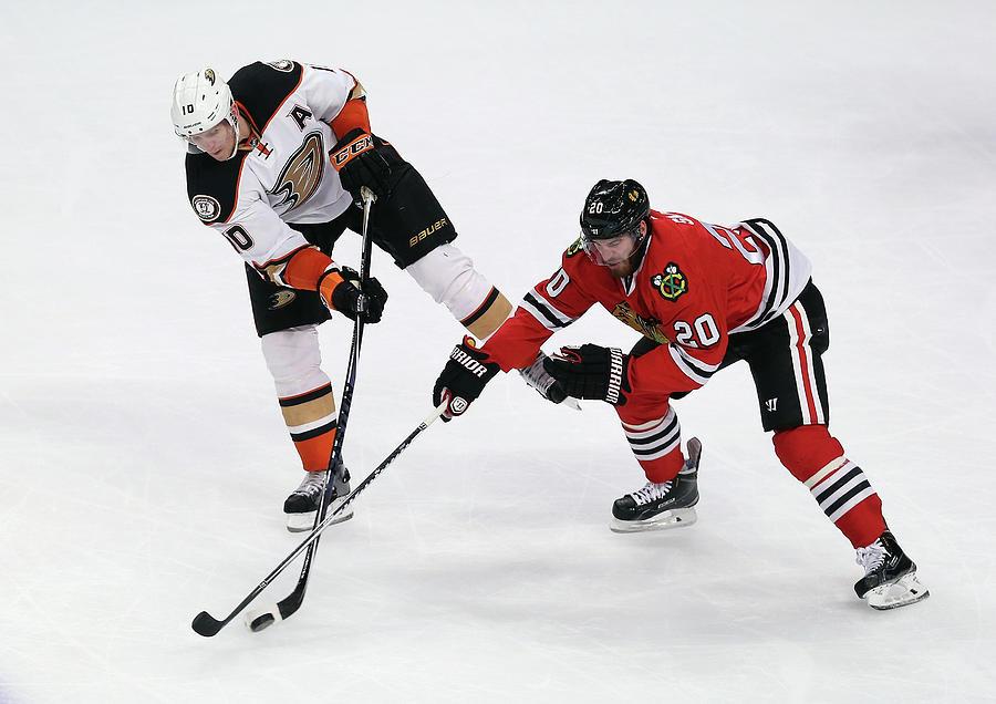 Anaheim Ducks V Chicago Blackhawks Photograph by Jonathan Daniel