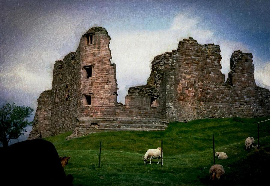 Castle Photograph - Ancient History by Daniel  Gundlach