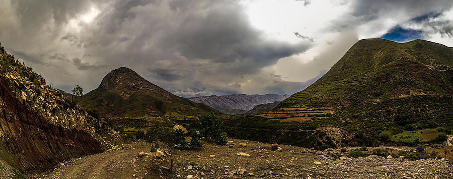 Landscape Photograph - Andean Hills by Tyler Lucas