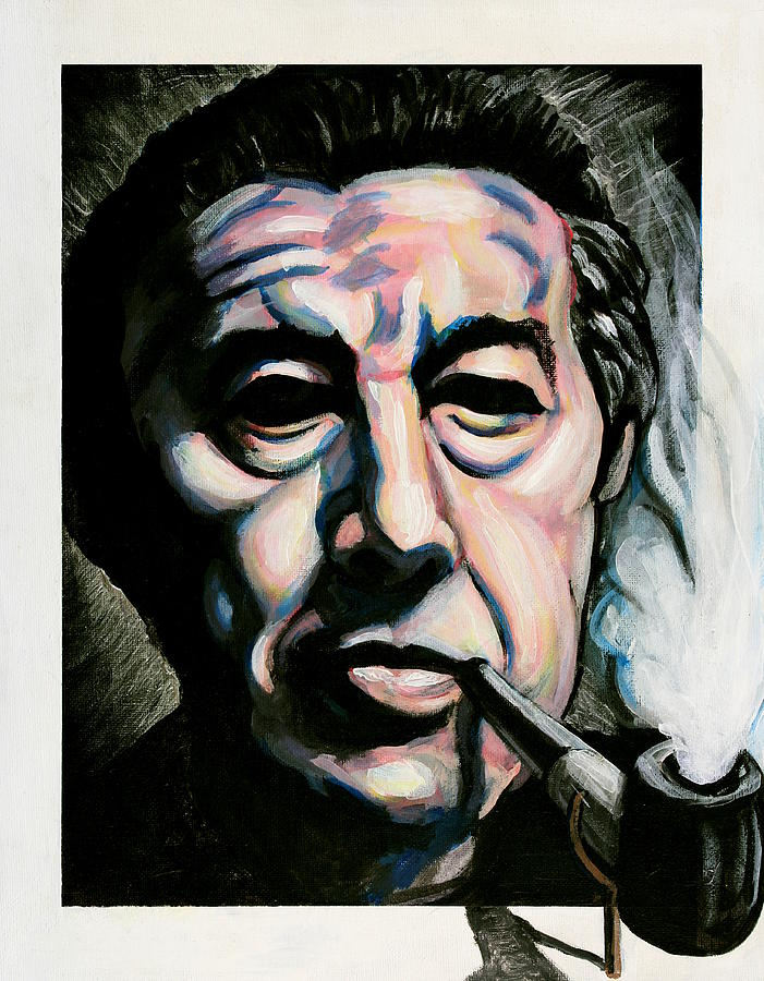 Andre Breton Painting By Adam B Cook