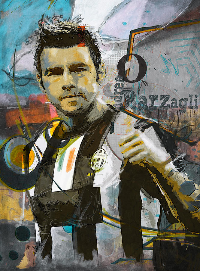 Andrea Barzagli Painting - Andrea Barzagli  by Corporate Art Task Force