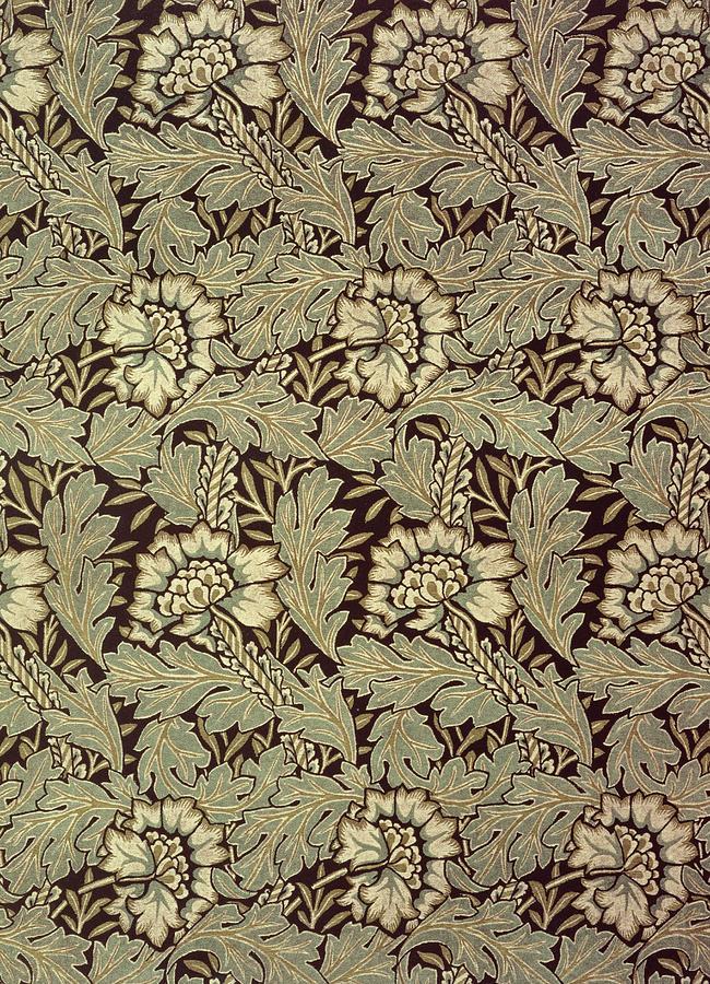 Anemones Tapestry - Textile - Anemone Design by William Morris