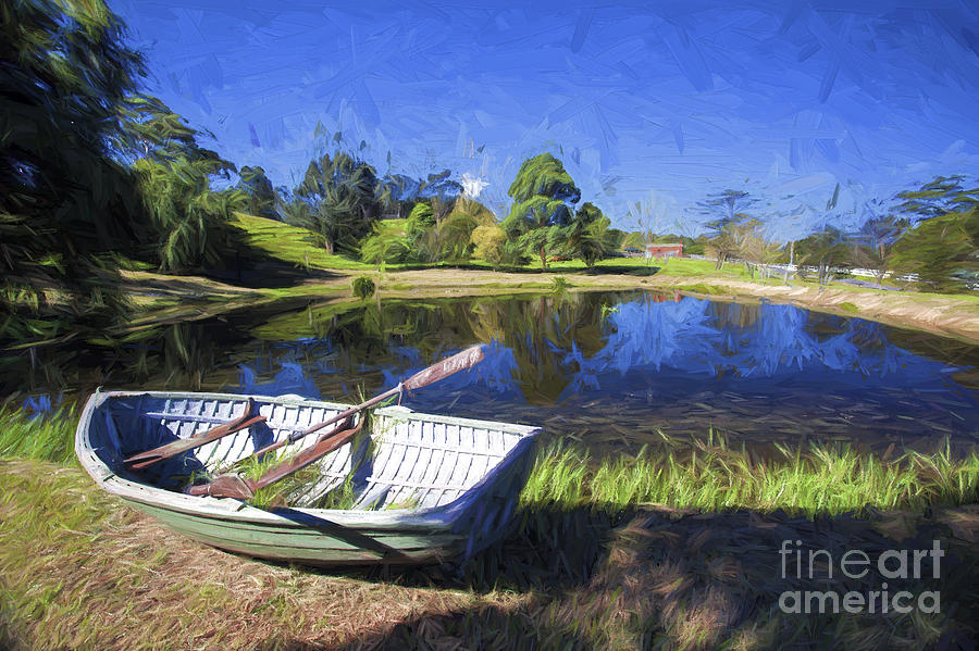 Boat Photograph - Annies Boat by Sheila Smart Fine Art Photography