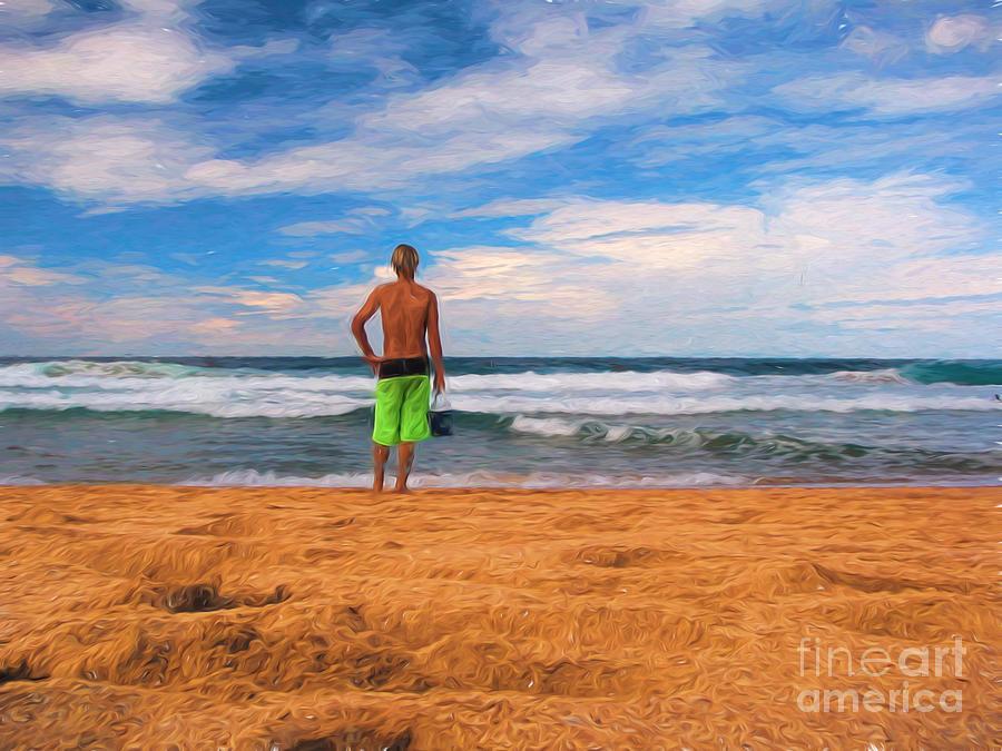Surf Photograph - Anticipation by Sheila Smart Fine Art Photography