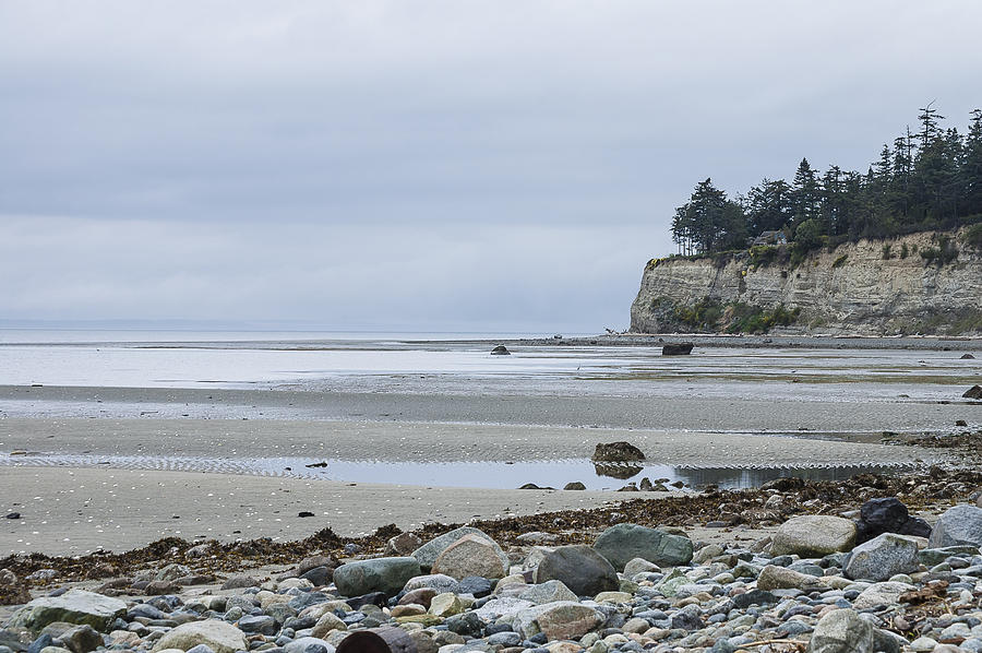 Double Bluff Photograph - April Bluffs by Tom Trimbath