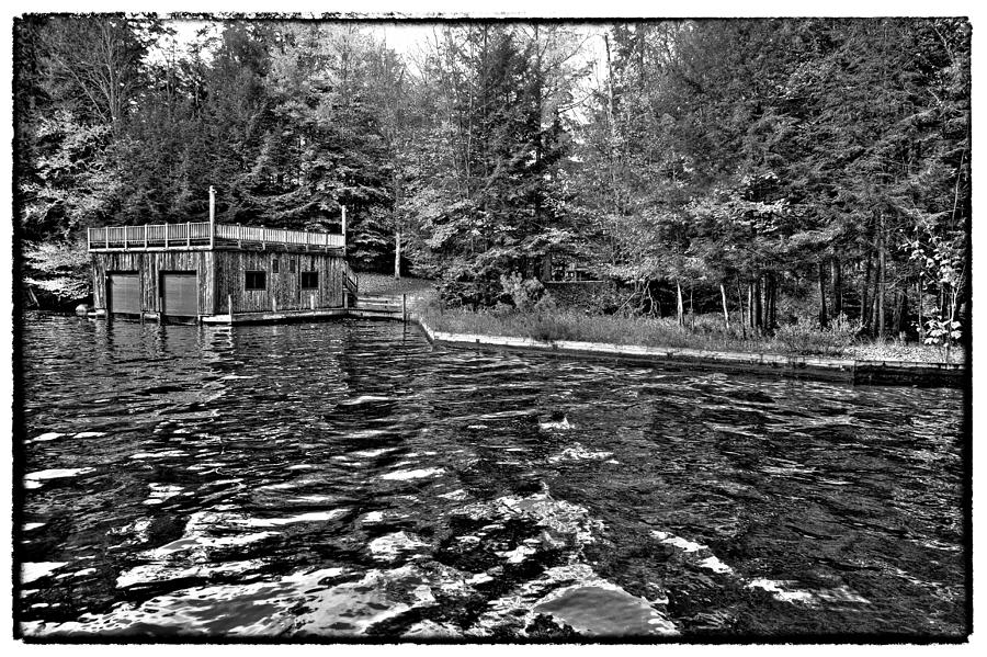 Adirondack Photograph - Arrowhead Park Waterway In Inlet New York by David Patterson