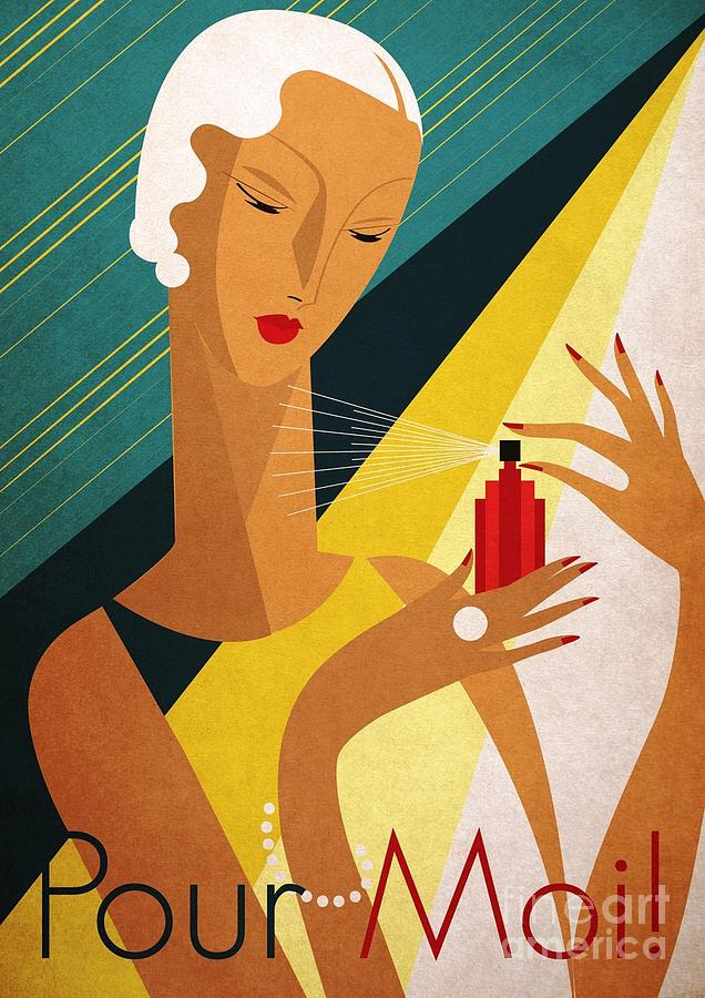Art Deco Posters Paintings