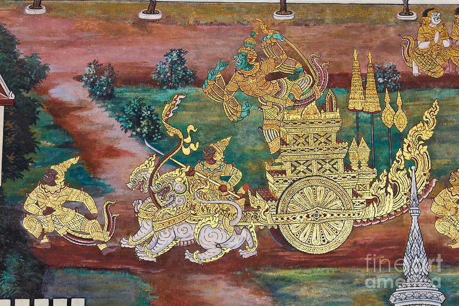 Thai Painting Art