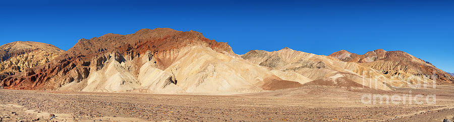 Valley Photograph - Artist Palette Pano by Jane Rix