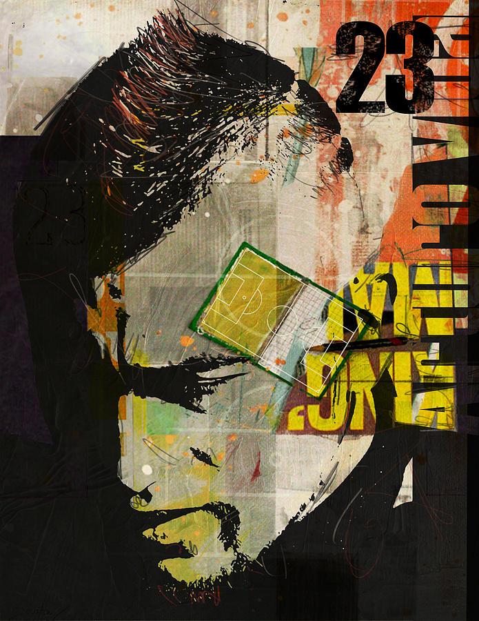 Arturo Vidal Painting - Arturo Vidal by Corporate Art Task Force