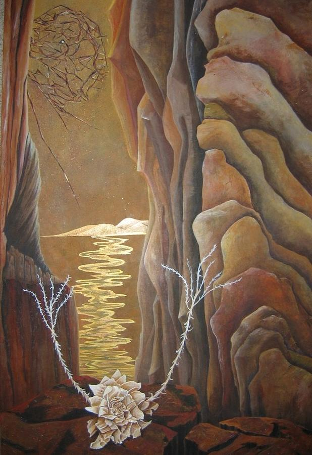 Nature Painting - As time Goes By 2 by Ashley Coll