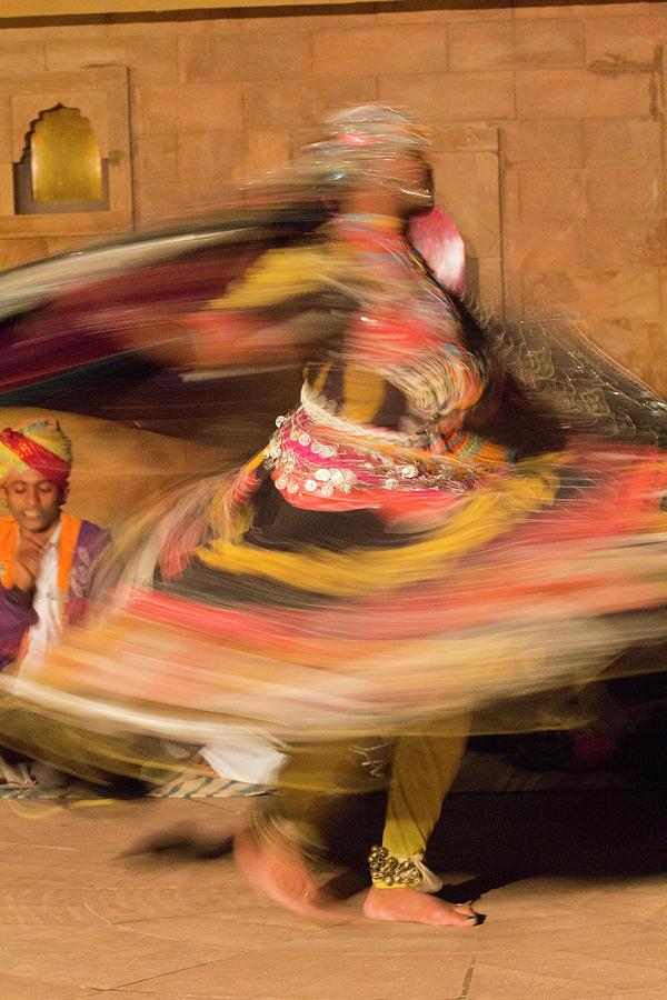Adult Photograph - Asia, India, Rajasthan, Jaipur, Folk by Emily Wilson