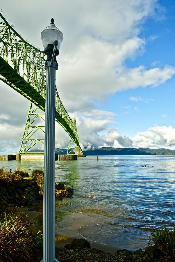 Bridge Photograph - Astoria Bridge by Rae Berge