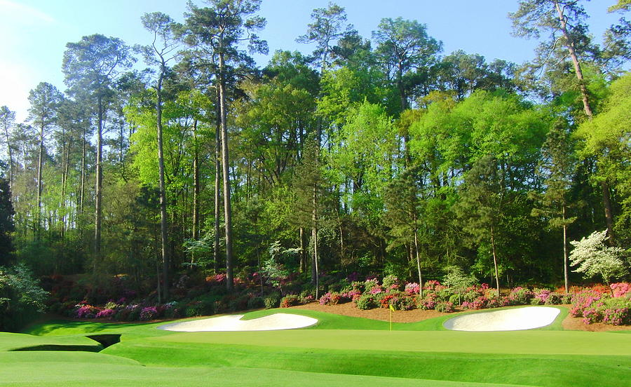 Augusta National Photograph - Augusta National - Hole 13 by Bo  Watson