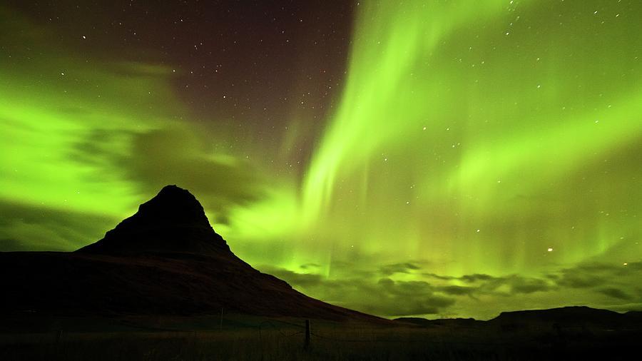 Aurora Borealis Photograph by Geinis