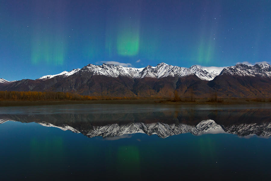 Auroras Photograph by Richard Jack-James