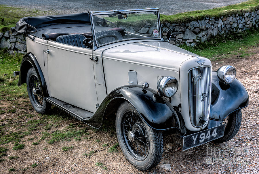 Austin Motor Company Photograph - Austin 7 by Adrian Evans