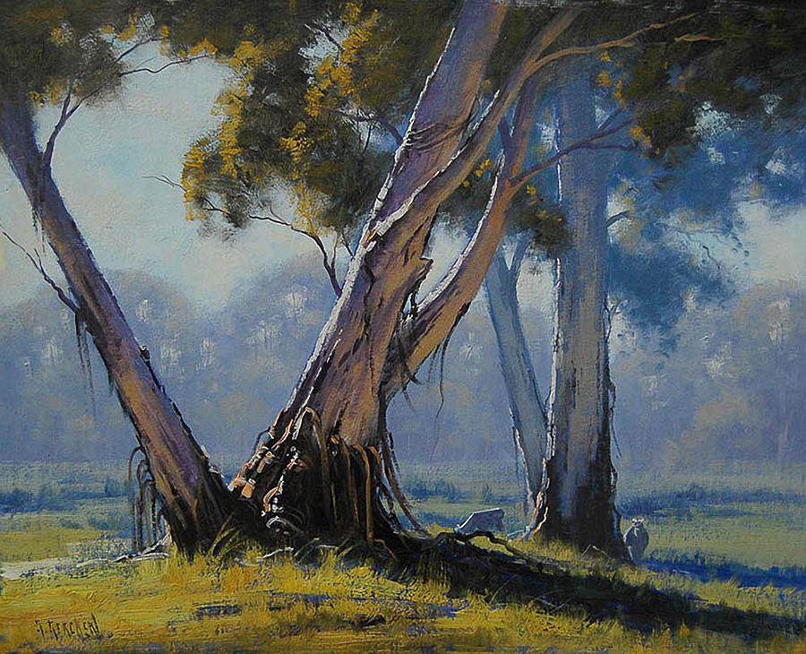 Australian Gums Painting