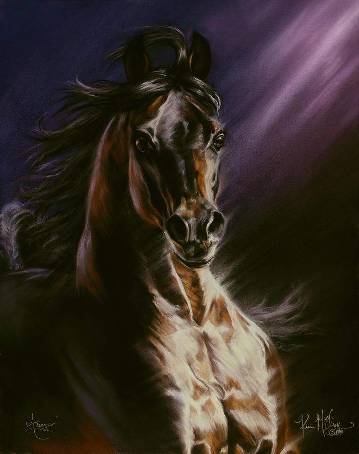 Bay Arabian Pastel - Avenger by Kim McElroy