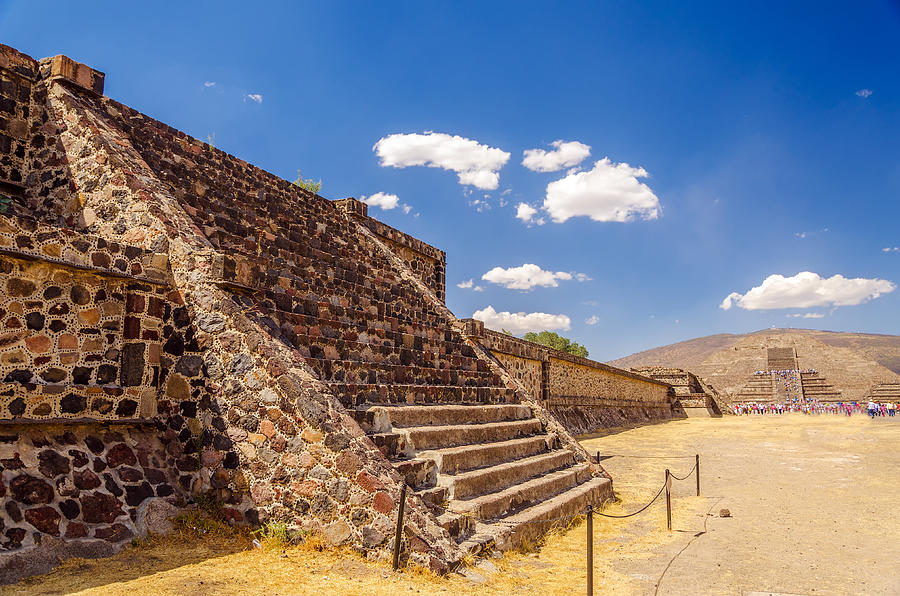 Teotihuacan Photograph - Avenue Of The Dead by Jess Kraft