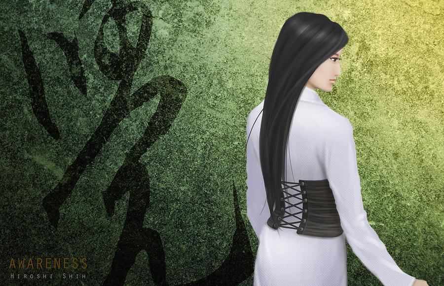 Hiroshi Painting - Awareness Ver.a by Hiroshi Shih
