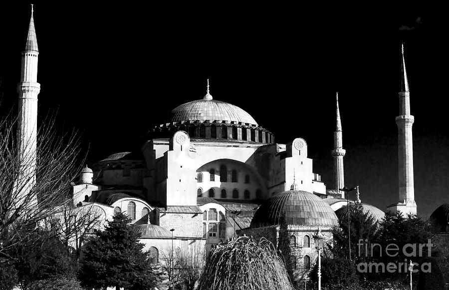 Sultanhmet Photograph - Aya Sofya by John Rizzuto