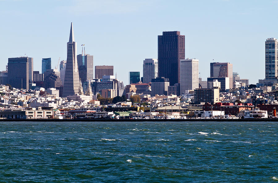 San Francisco Photograph - Baghdad By The Bay  by Bernard  Barcos