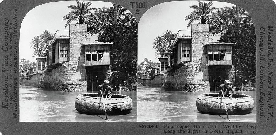 1914 Painting - Baghdad Tigris, C1914 by Granger