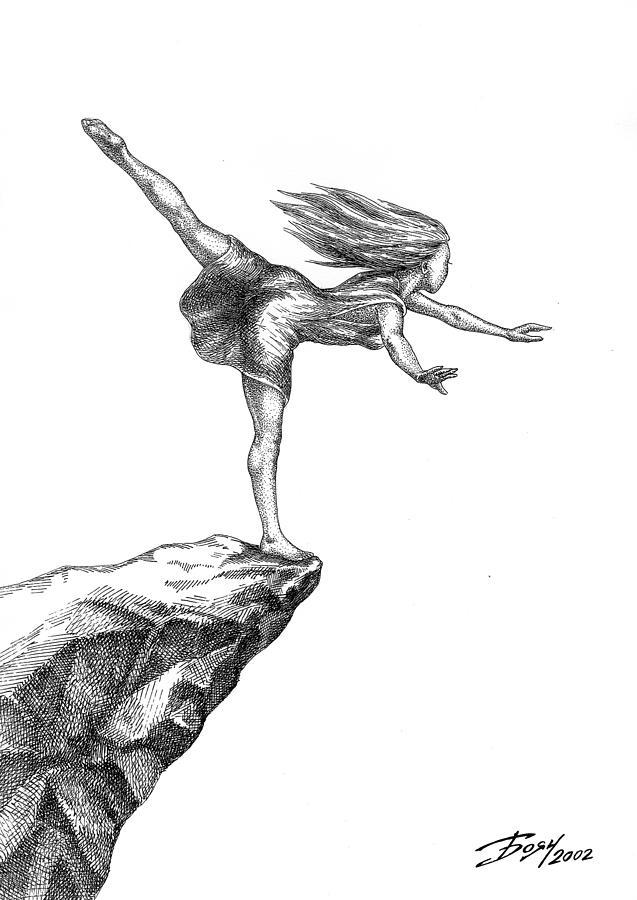 Balance Drawing - Balance by Boyan Donev