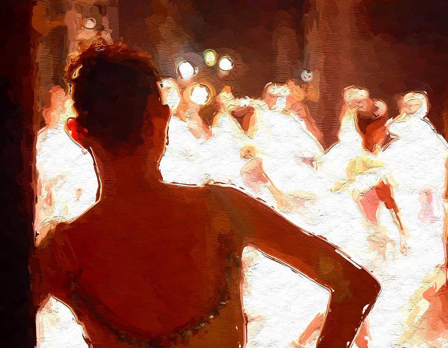 Ballet Painting by Steve K