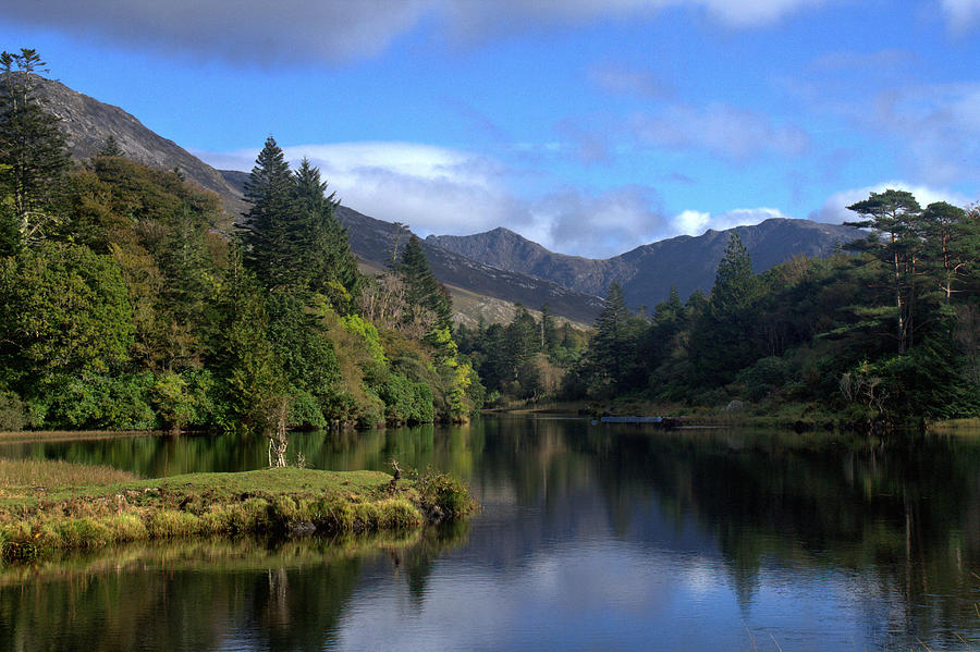 Ballynahinch Castle Connemara Galway Ireland Landscape Photography Prints Canvas Ipad Cards Photograph - Ballynahinch by Peter Skelton