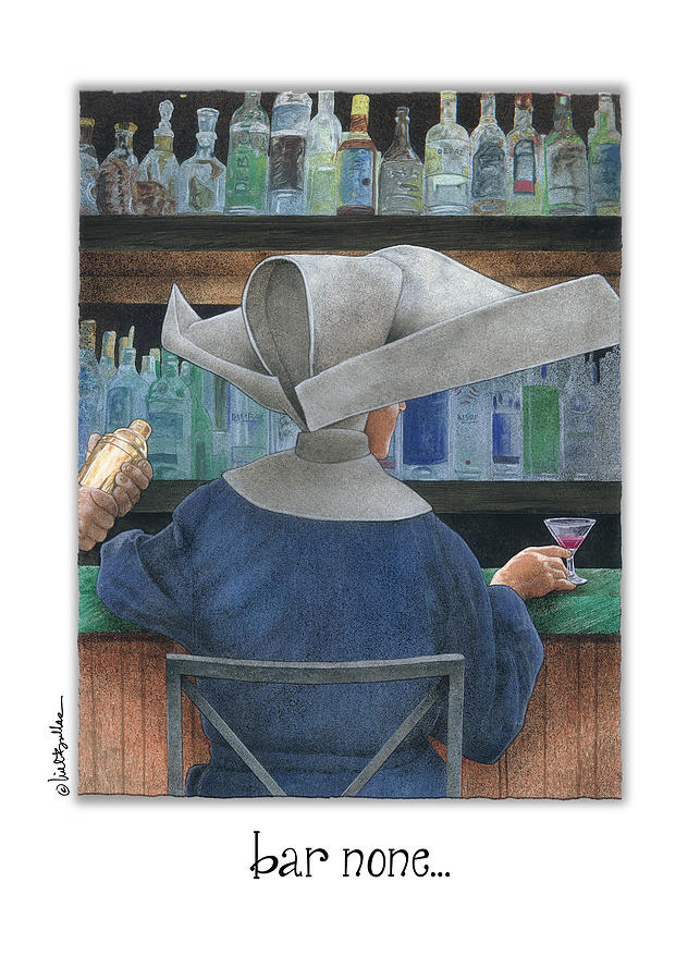 Will Bullas Painting - Bar None... by Will Bullas