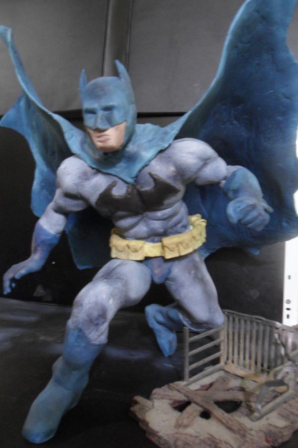 Batman Sculpture - Batman by Luis Carlos A