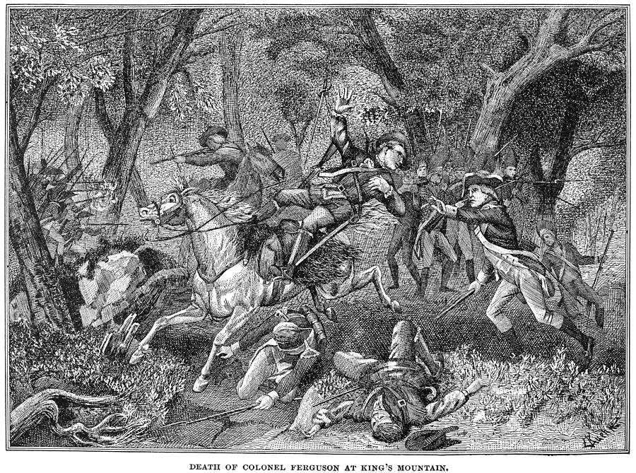 Battle Of Kings Mountain Photograph by Granger