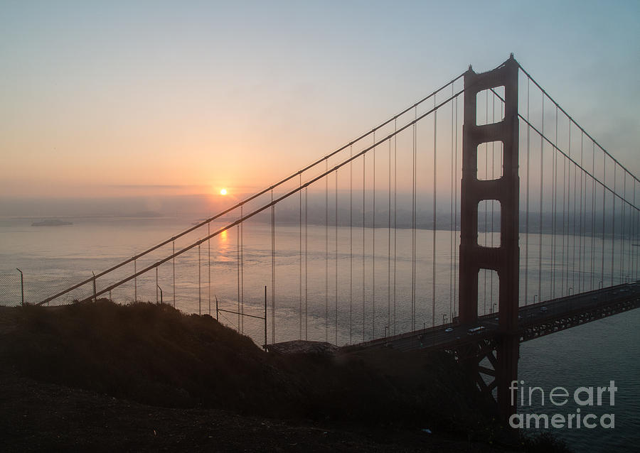 Golden Gate Bridge Photograph - Golden Gate Bridge - 145 by Stephen Parker