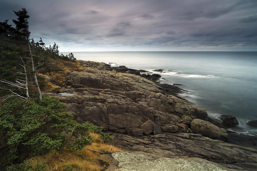 Bay Of Fundy As Dusk Canada Photograph by Scott Leslie