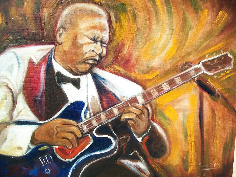 Emery Painting - Bb King by Emery Franklin