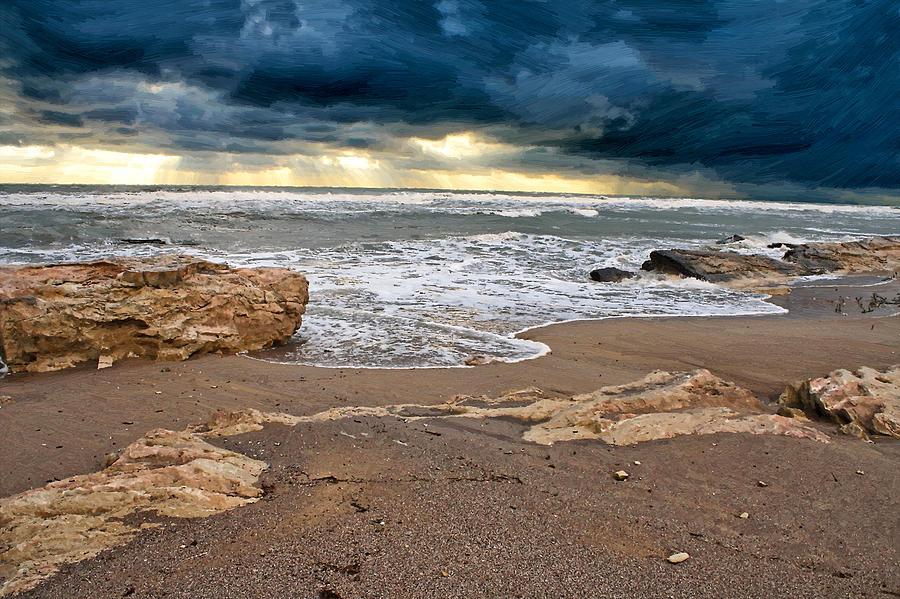 Beach Photograph - Beach. by Alexandr  Malyshev