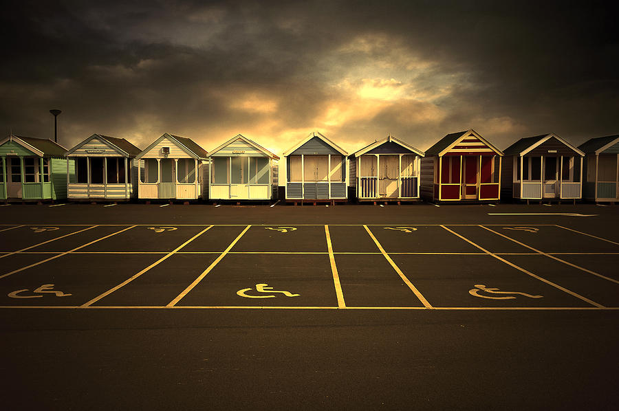 Apartment Photograph - Beach Huts by Svetlana Sewell
