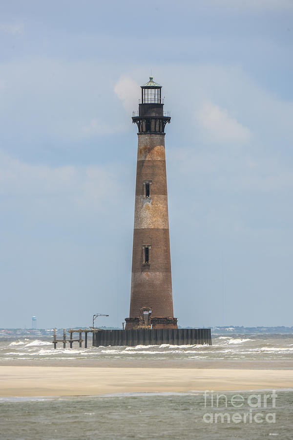 Morris Island Lighthouse Beacon Of Light Photograph
