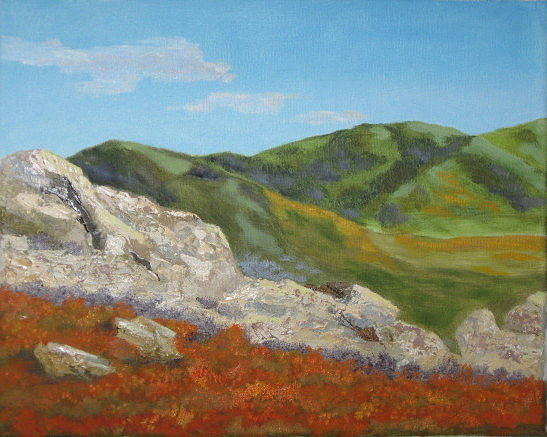 Bear Valley Springs Painting - Bear Valley Springs by Terry Sonntag