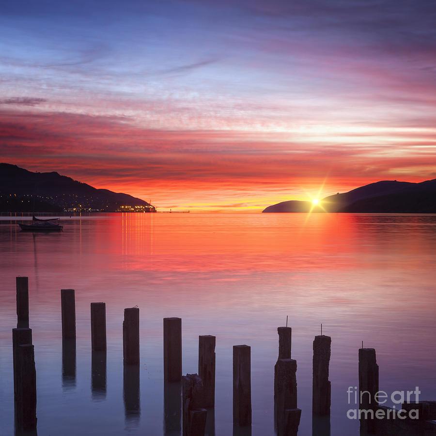 Sunrise Photograph - Beautiful Sunrise by Colin and Linda McKie