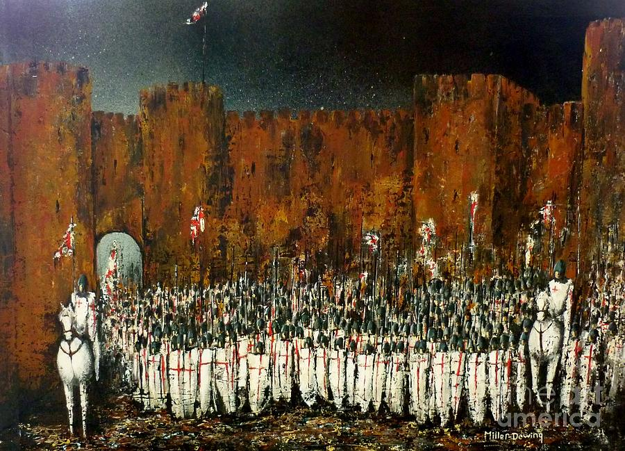 Crusade Painting - Before Battle by Kaye Miller-Dewing