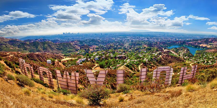 Behind The Hollywood Sign Photograph By Jeana Childress