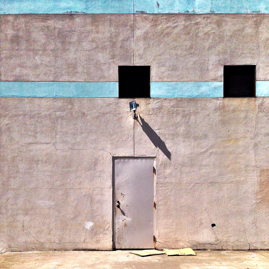 Wall Photograph - Beige Wall 1 by Julie Gebhardt